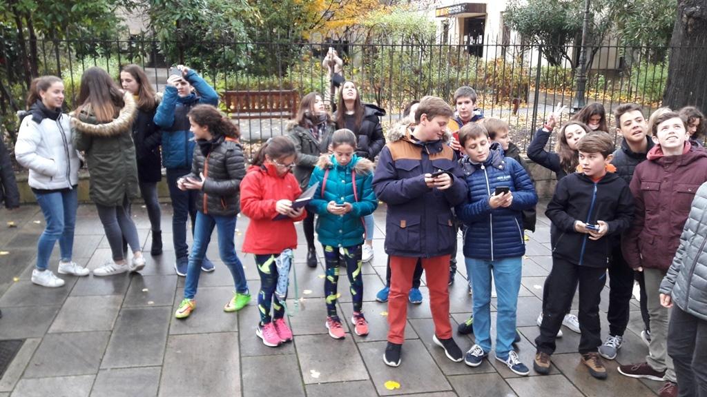 Elèves espagnols Bayonne 2017