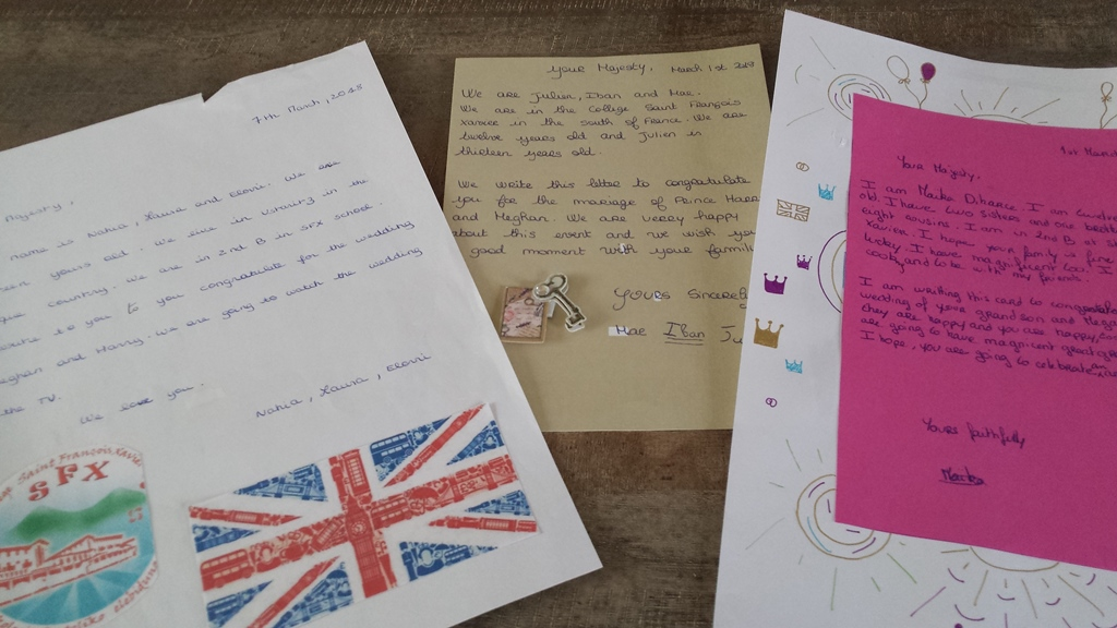 Lettre à sa majesté la Reine d\'Angleterre