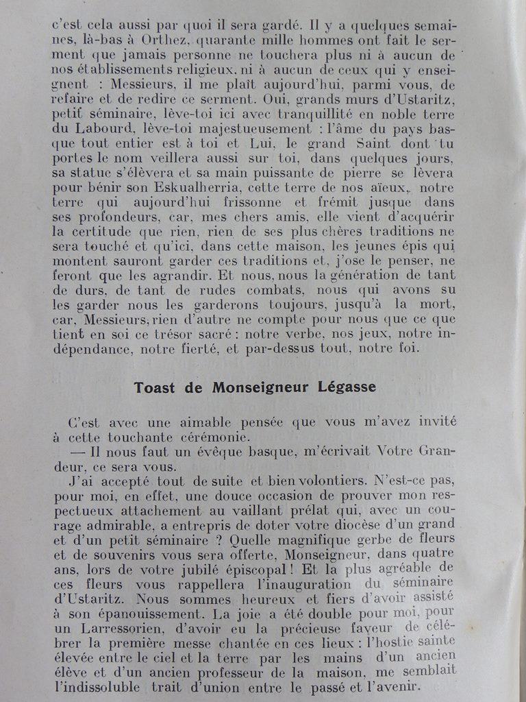 Premier bulletin des anciens élèves en 1926-1927