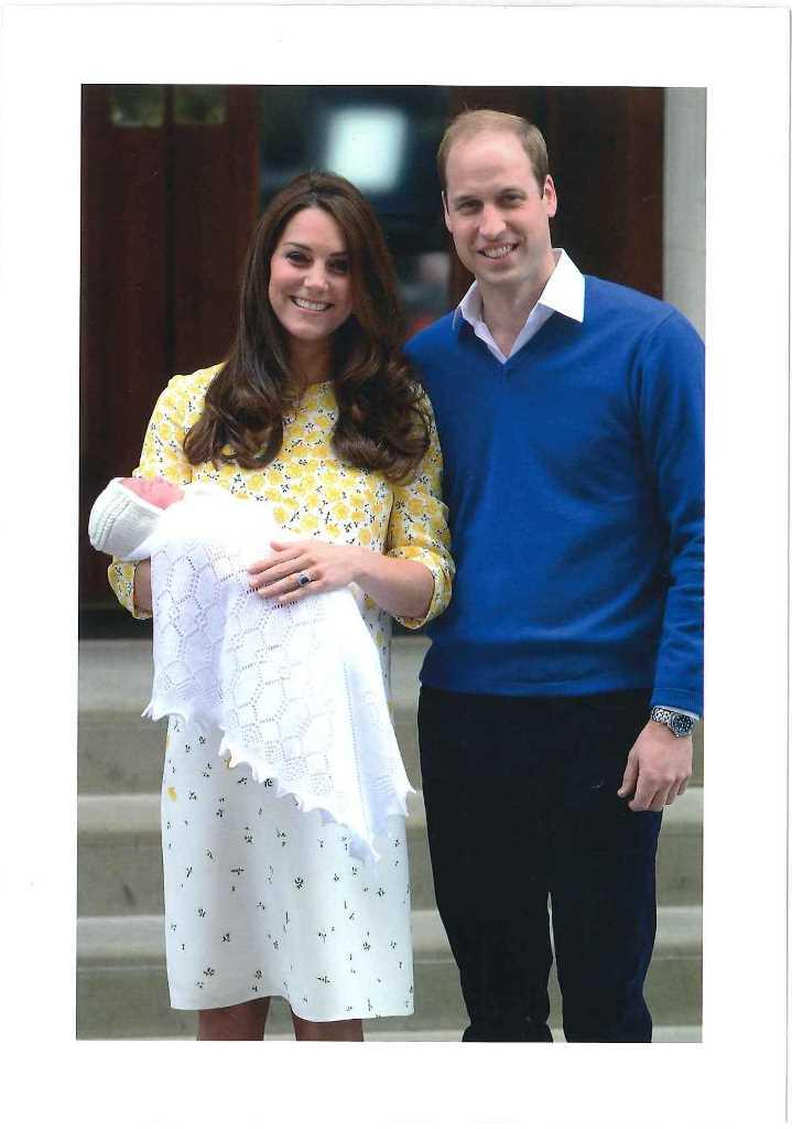Lettre de Kate et William 2015