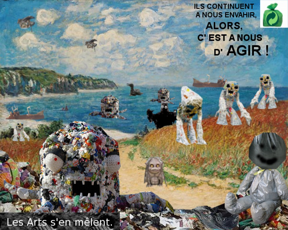 Arts plastique anti-gaspillage