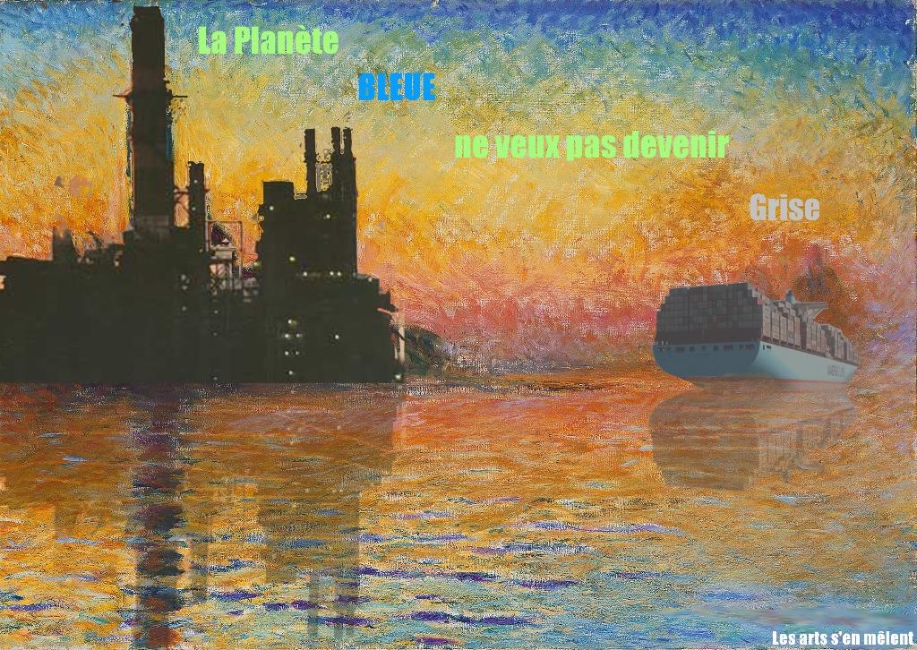 Arts plastique anti-gaspillage : Iban et Simon