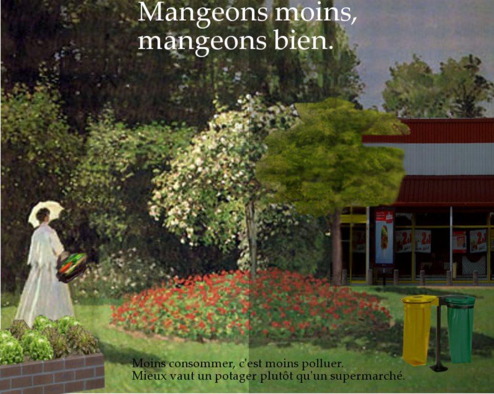 Arts plastiques 4eme et écologie (Marie et Mathilde)