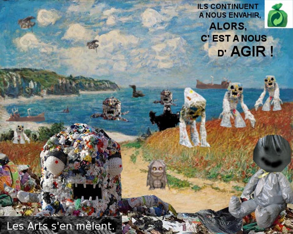 Arts plastiques 4eme et écologie