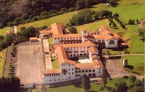 Photo aérienne du collège