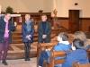 M. Errandonea aux côtés de Mme Bontan de l'association l'Entraide et M. Germain de l'ordre de Malte