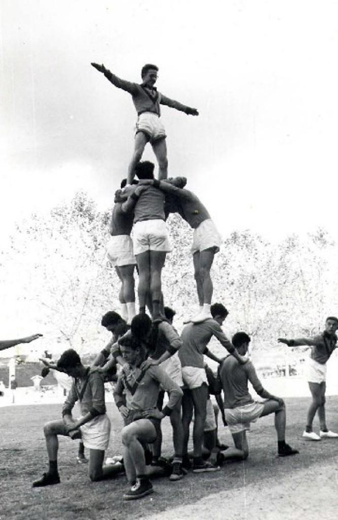 Education physique années 1960