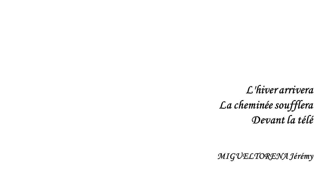 haiku jeremy