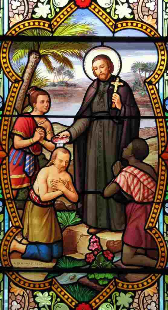 Vitrail Saint François Xavier