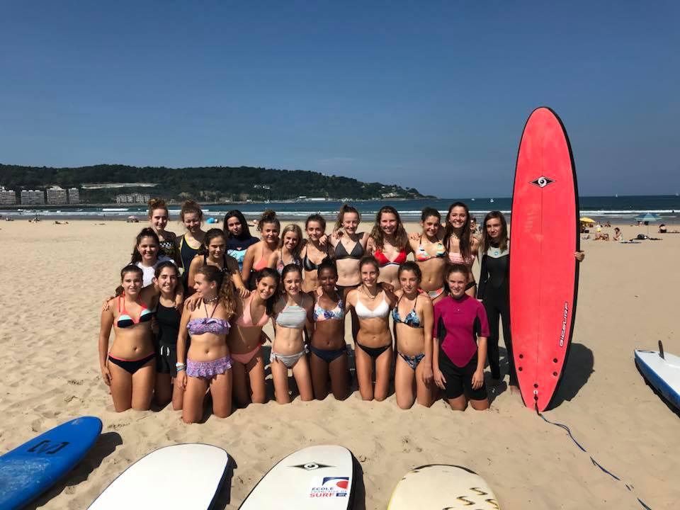 Surf Hendaye septembre 2018