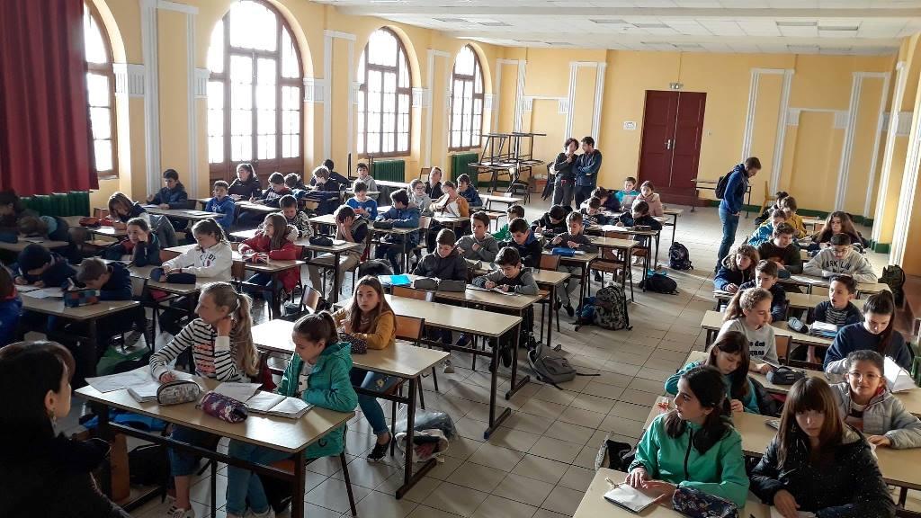 Uztaola 6eme : lancement en grande salle d'étude