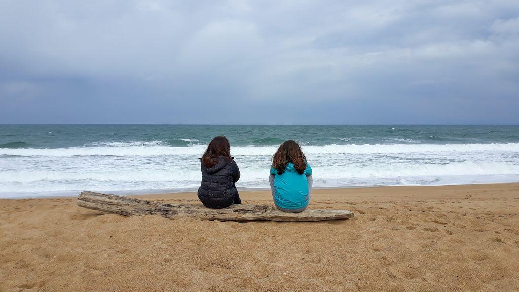 Uztaola 6eme : Après le nettoyage de plage...