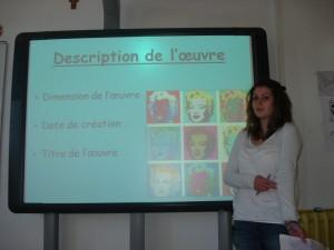 Histoire des arts 2012