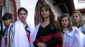 La dame et ses servantes