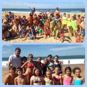 Journée Beach UNSS septembre 2014