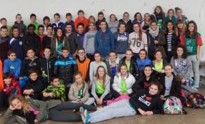 Participants au Cross departemental 2014