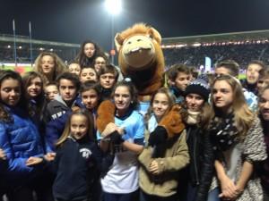 Match Aviron Bayonnais vs Lyon