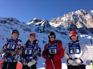 Ski Gourette janvier 2015