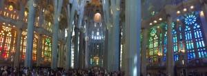 La Sagrada Familia de l'architecte Gaudi