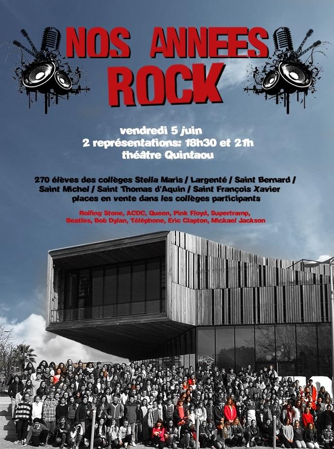 Nos annees Rock 2015