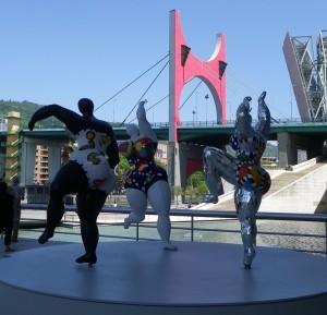 Sculptures de Niki de Saint-Phalle
