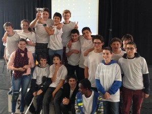 Euskal Robot Cup 2015 : le podium pour SFX !