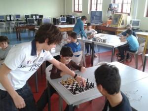 Entraînement au tournoi d'échecs 2015