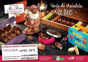 Chocolats de Noël du collège Saint François Xavier