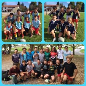 Rugby  : Finales de district 2015