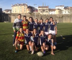 Championnat départemental rugby 2016  : les benjamines