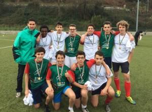 Benoit, Pierre-Victor, Noa, Alexandre, Antoine, Titouan, Benat, Adrien, Yoann, et Cyril sont champions départementaux !