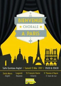 """""""Bienvenue à Paris"""", spectacle de 4 collèges réunis"""